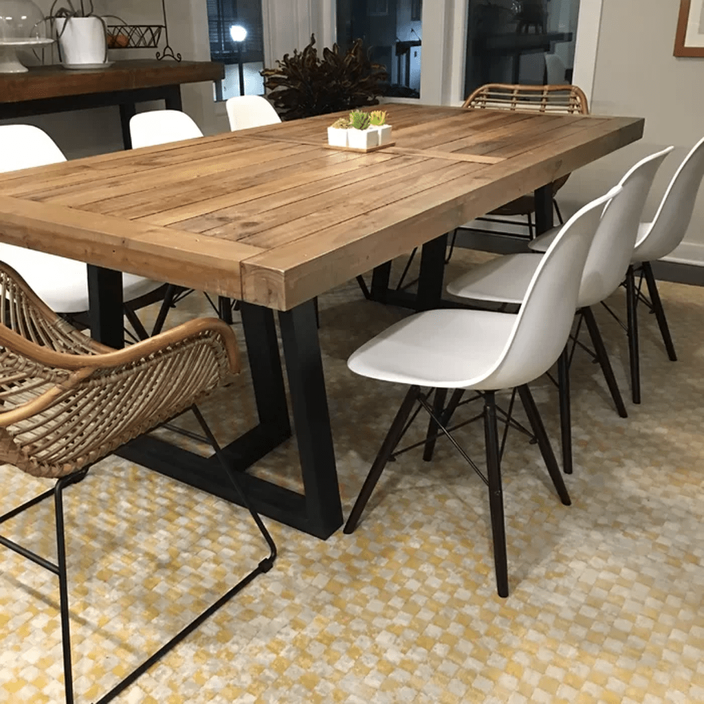 Stunning Modern Farmhouse Kitchen Table Design Ideas 25