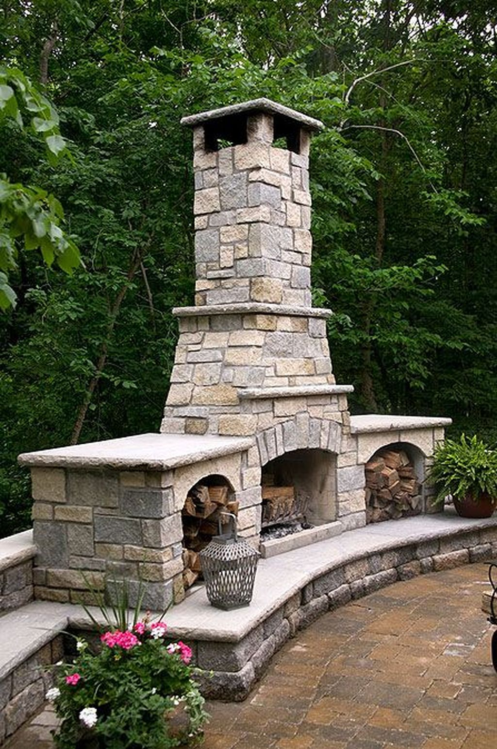 The Best Backyard Fireplace Design Ideas You Must Have 01