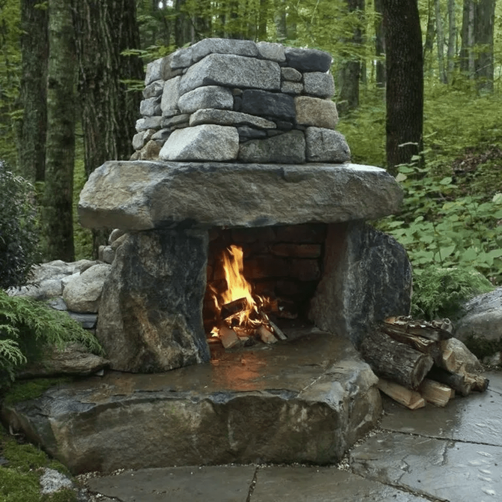 The Best Backyard Fireplace Design Ideas You Must Have 13