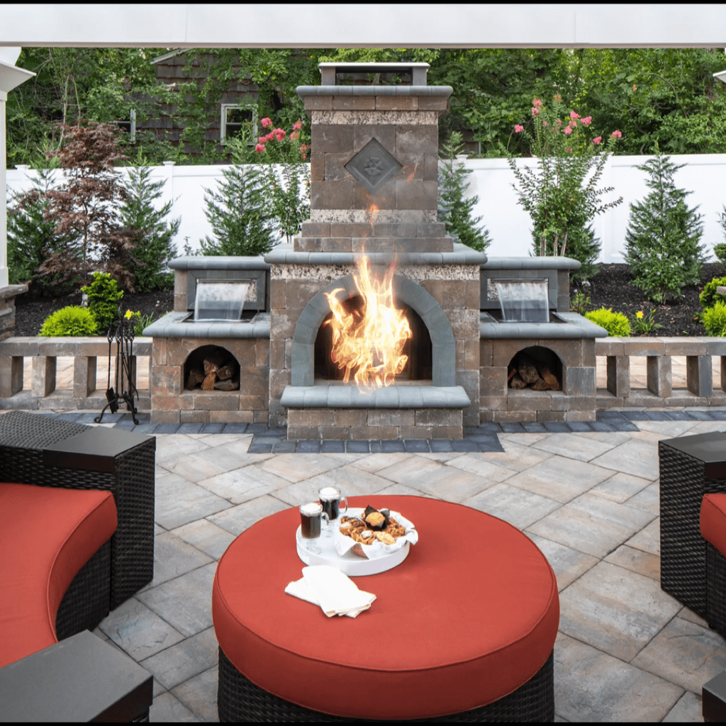 The Best Backyard Fireplace Design Ideas You Must Have 15