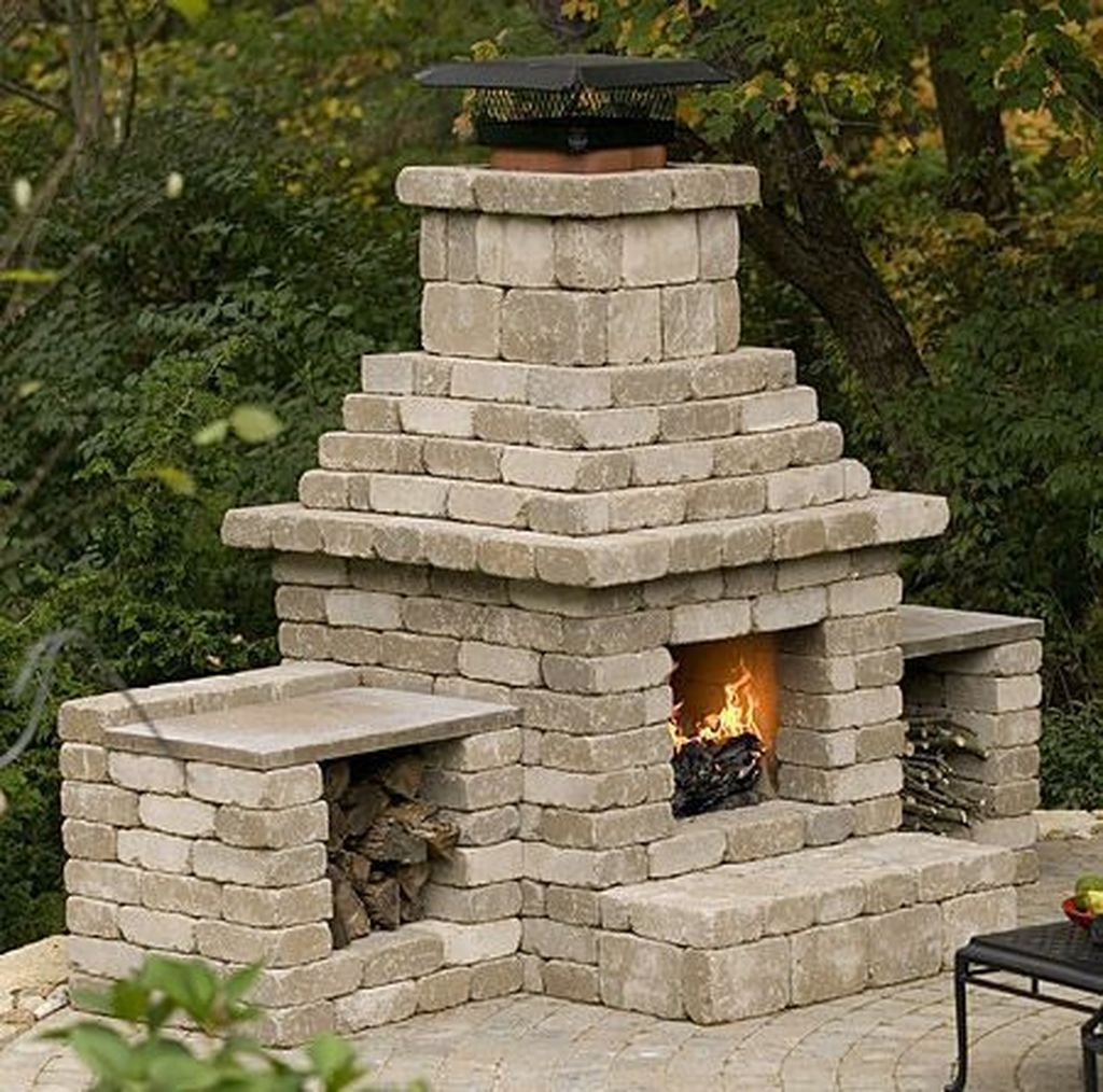 The Best Backyard Fireplace Design Ideas You Must Have 23
