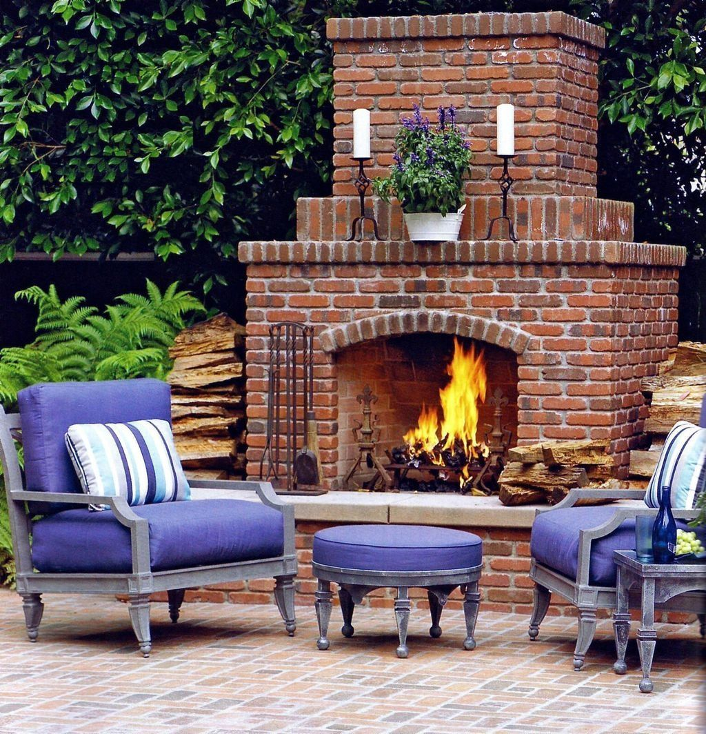 The Best Backyard Fireplace Design Ideas You Must Have 26