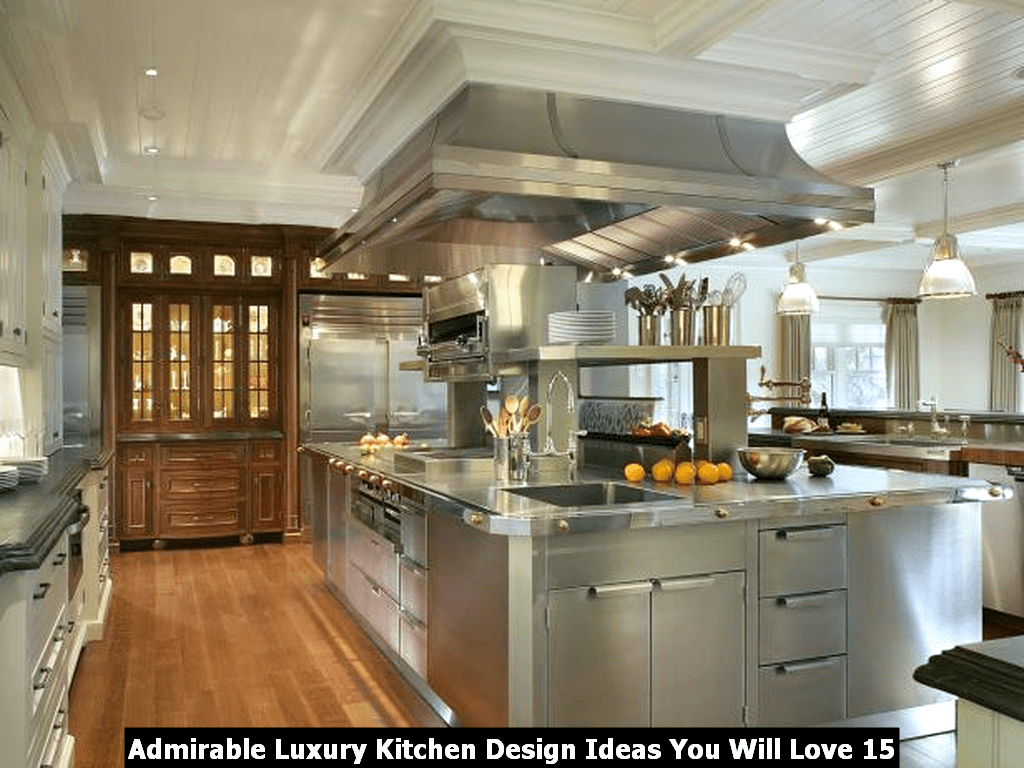 Admirable Luxury Kitchen Design Ideas You Will Love 15