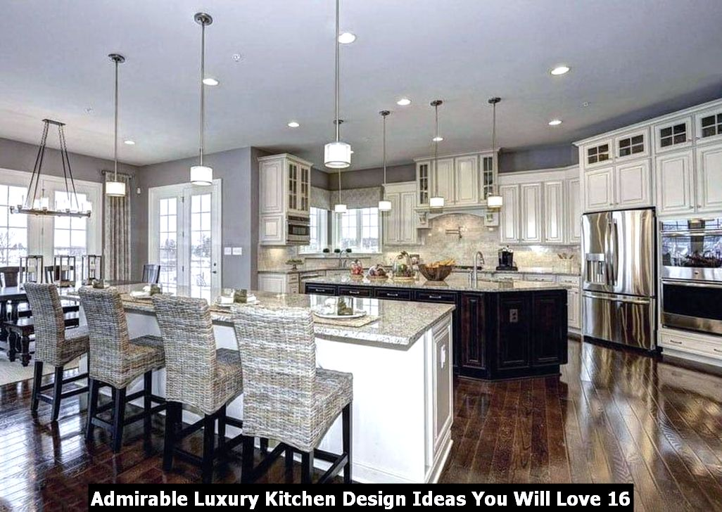 Admirable Luxury Kitchen Design Ideas You Will Love 16