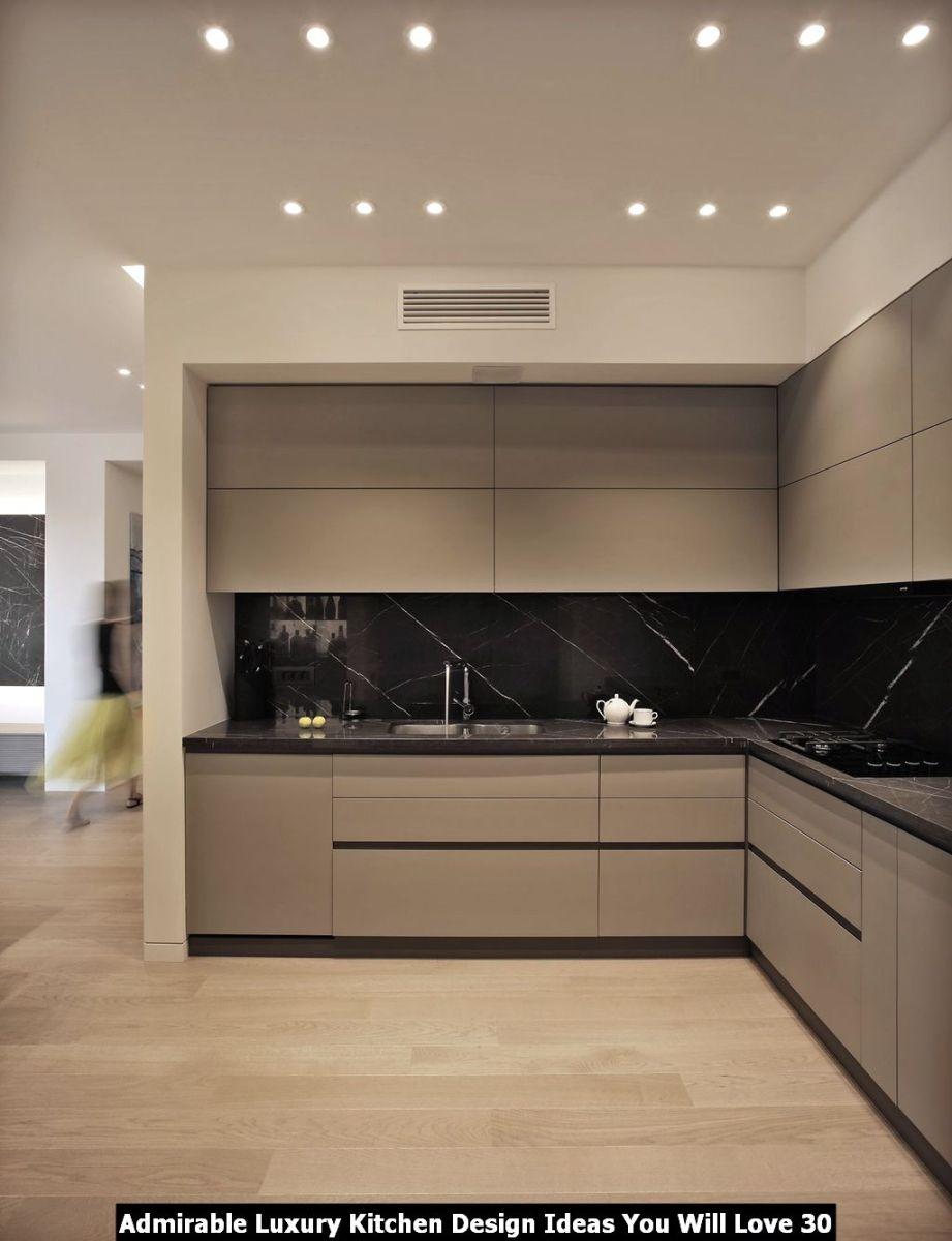 Admirable Luxury Kitchen Design Ideas You Will Love 30