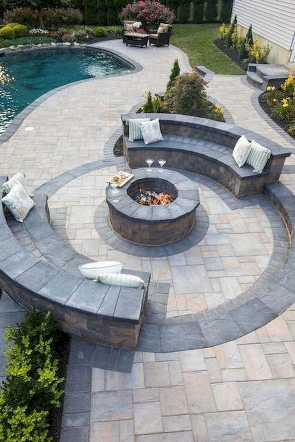 Amazing Fire Pit Design Ideas For Your Backyard Decor 11