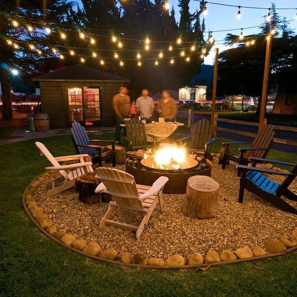Amazing Fire Pit Design Ideas For Your Backyard Decor 20