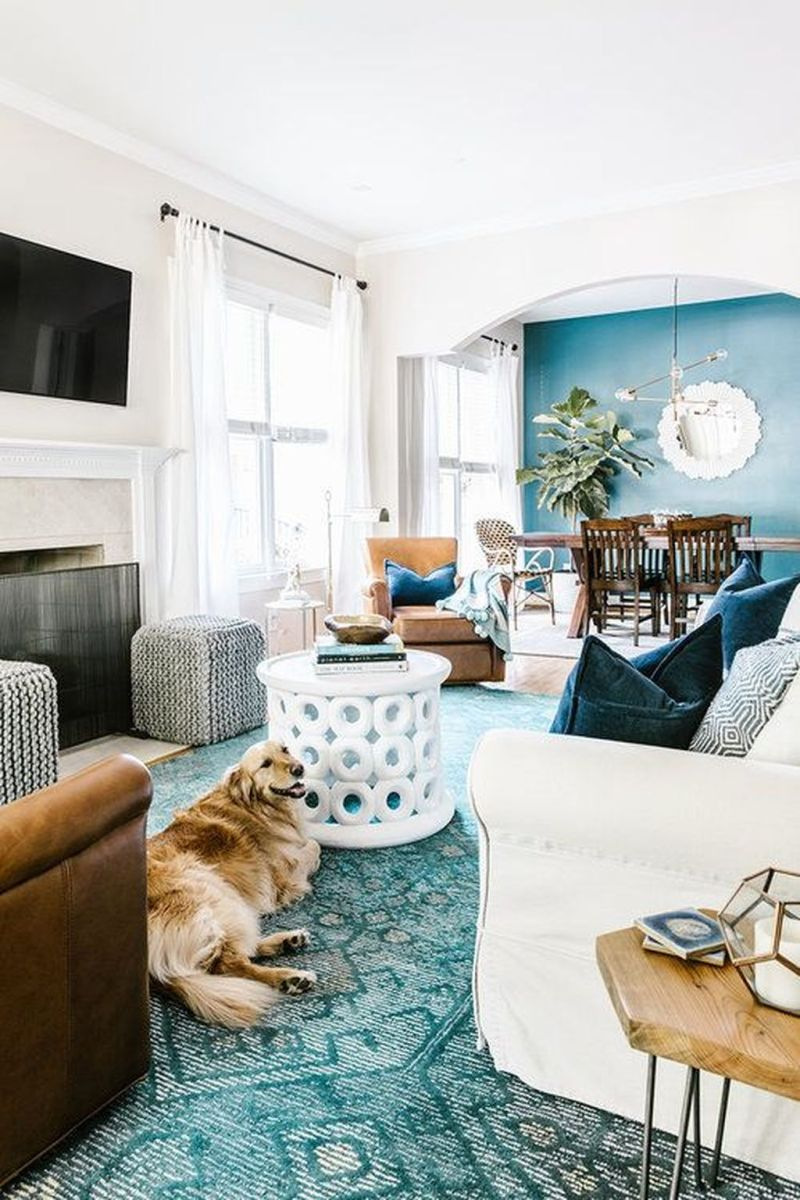 Brilliant Accent Wall Ideas For Living Room 03
