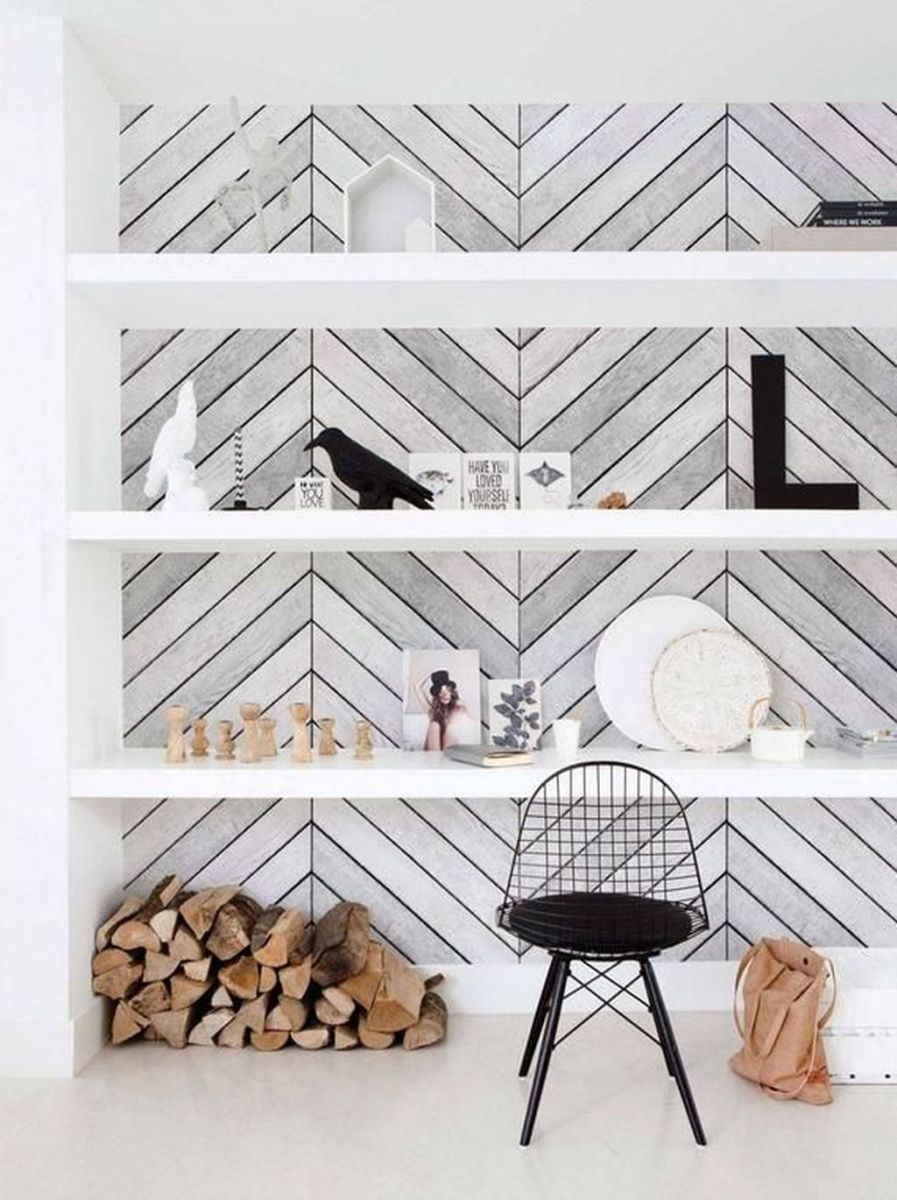 Brilliant Accent Wall Ideas For Living Room 12