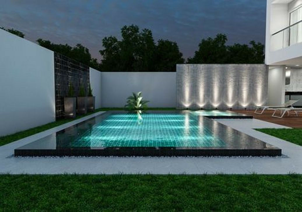 Fabulous Backyard Pool Landscaping Ideas You Never Seen Before 12