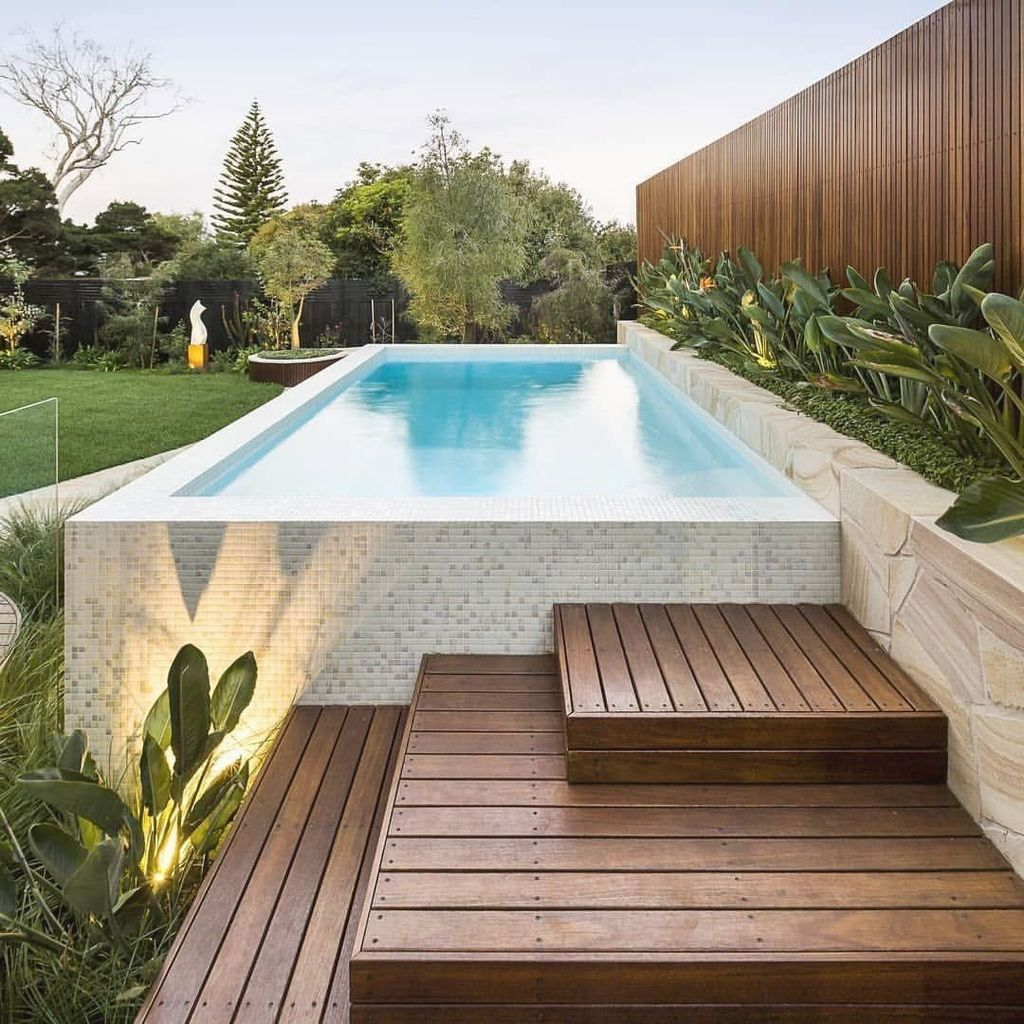 Fabulous Backyard Pool Landscaping Ideas You Never Seen Before 19