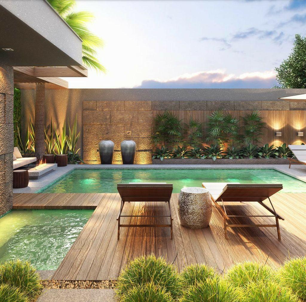 Fabulous Backyard Pool Landscaping Ideas You Never Seen Before 26