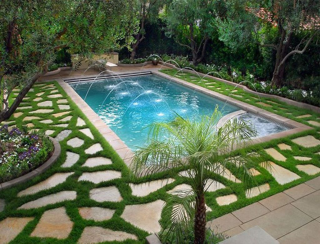 Fabulous Backyard Pool Landscaping Ideas You Never Seen Before 28