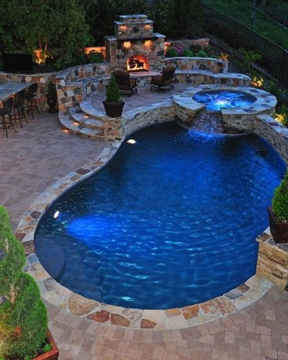 Fabulous Backyard Pool Landscaping Ideas You Never Seen Before 32