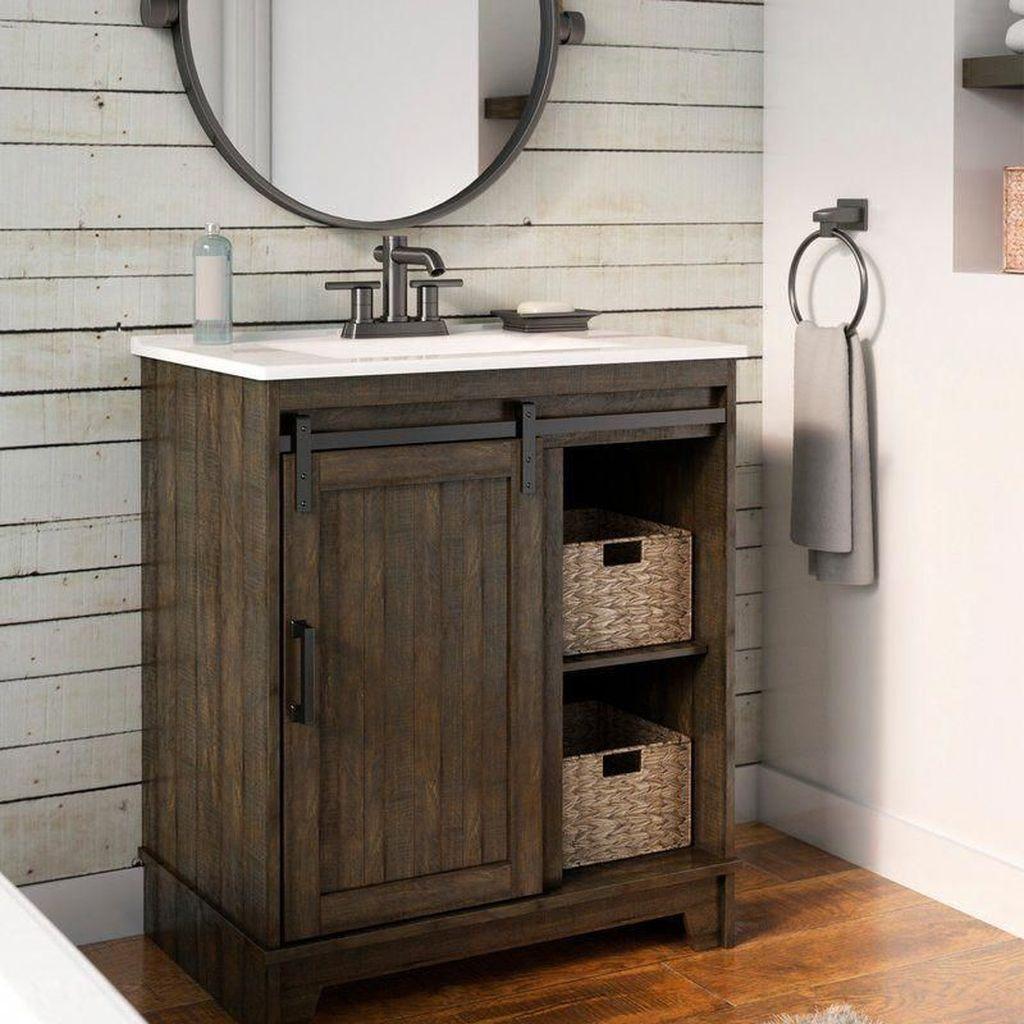Fascinating Rustic Bathroom Decor Ideas You Must Copy 23