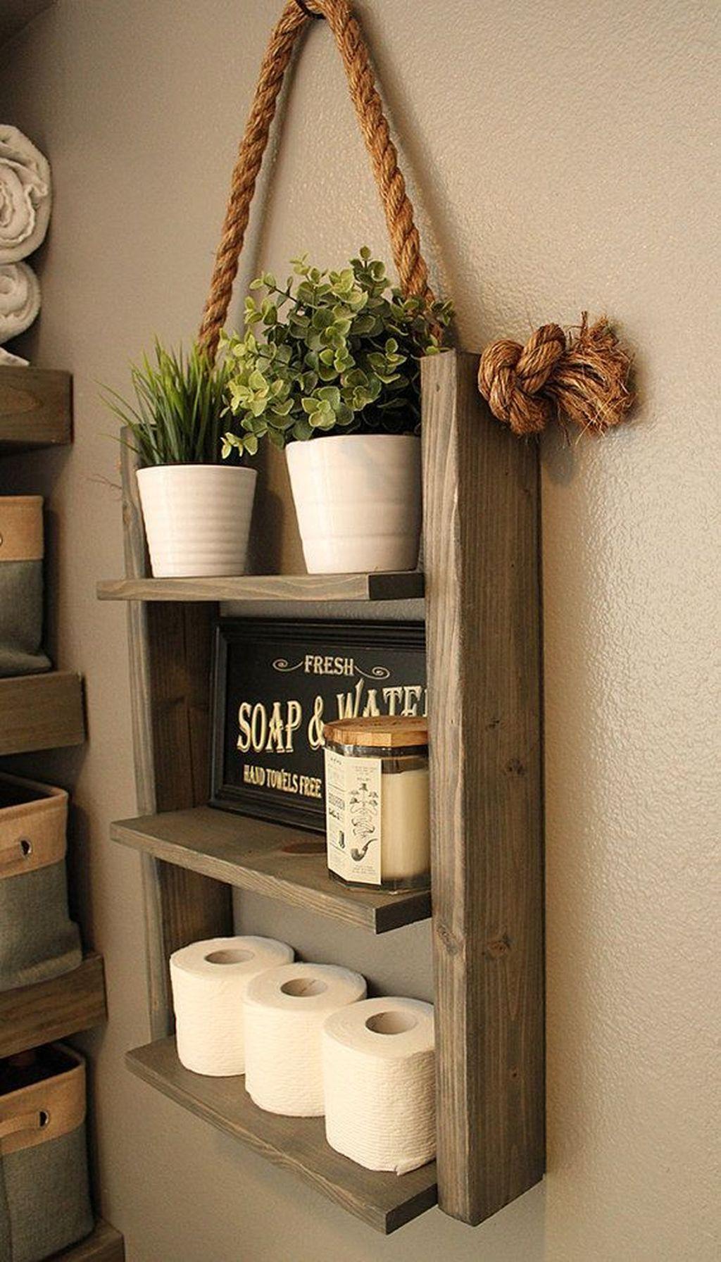 Fascinating Rustic Bathroom Decor Ideas You Must Copy 35