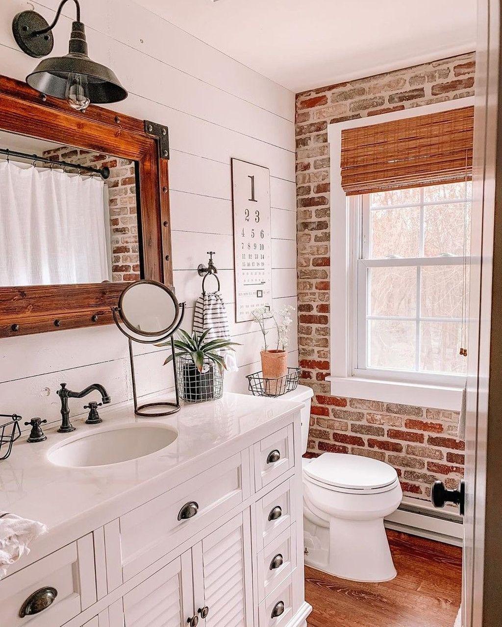 Fascinating Rustic Bathroom Decor Ideas You Must Copy 36