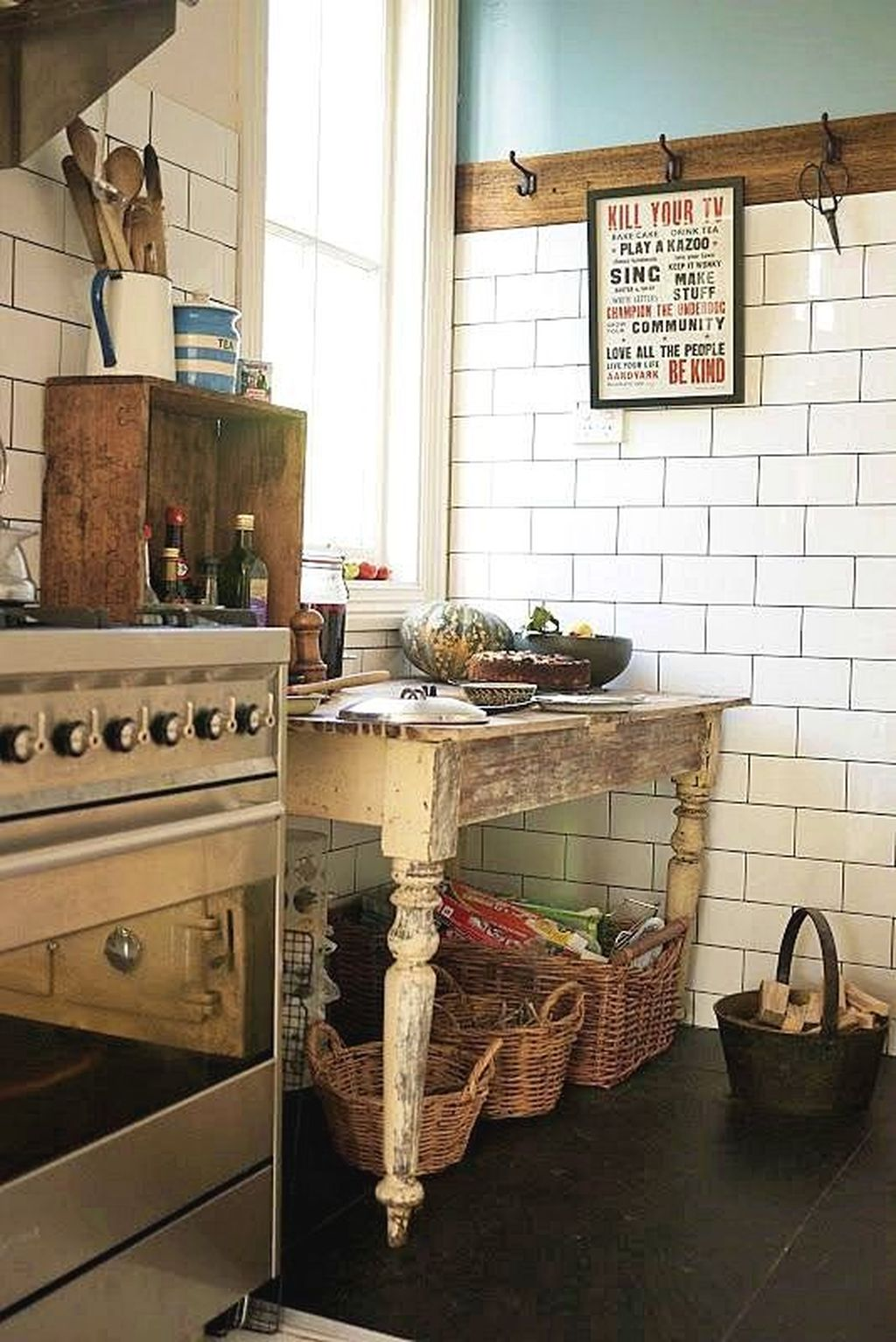 Inspiring Country Kitchen Decor Ideas You Should Copy 18
