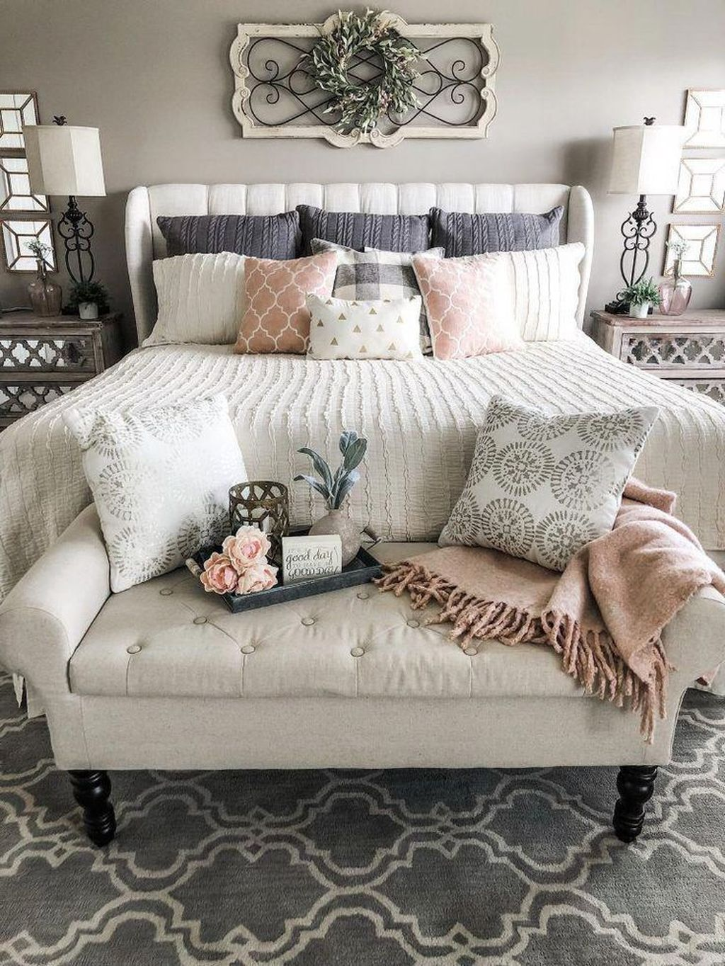 Lovely Spring Bedroom Decor Ideas Trending This Year 35