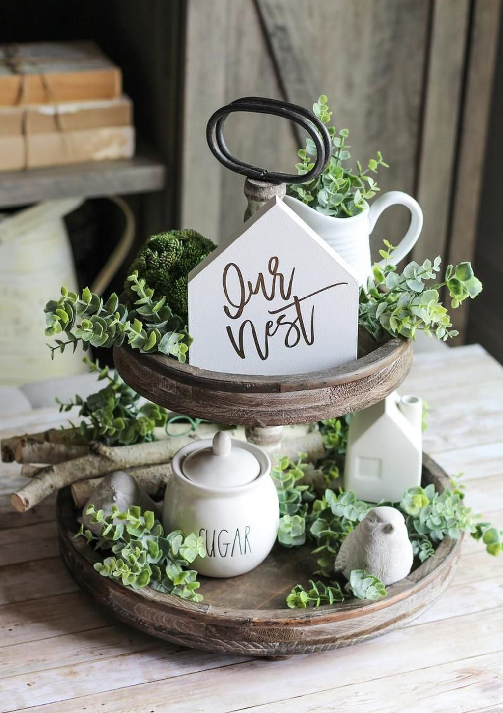 Popular DIY Spring Decor Ideas With Rustic Style 20