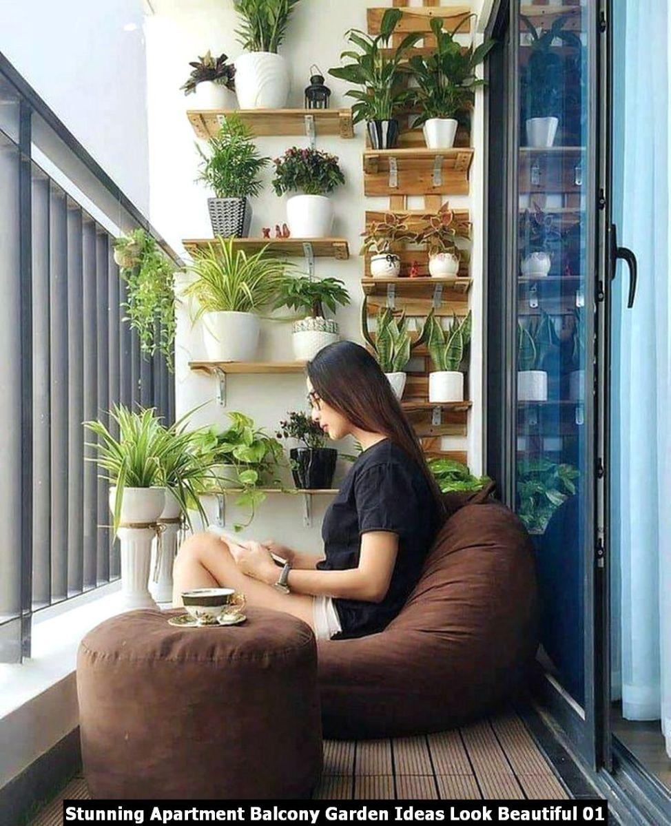 Stunning Apartment Balcony Garden Ideas Look Beautiful 01
