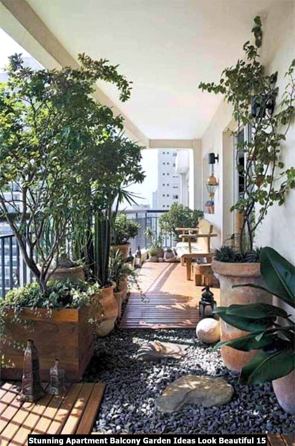 Stunning Apartment Balcony Garden Ideas Look Beautiful 15