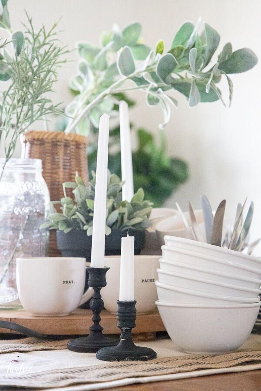 The Best Farmhouse Style Spring Tablescape Decor Ideas 01