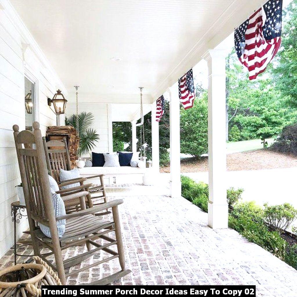 Trending Summer Porch Decor Ideas Easy To Copy 02