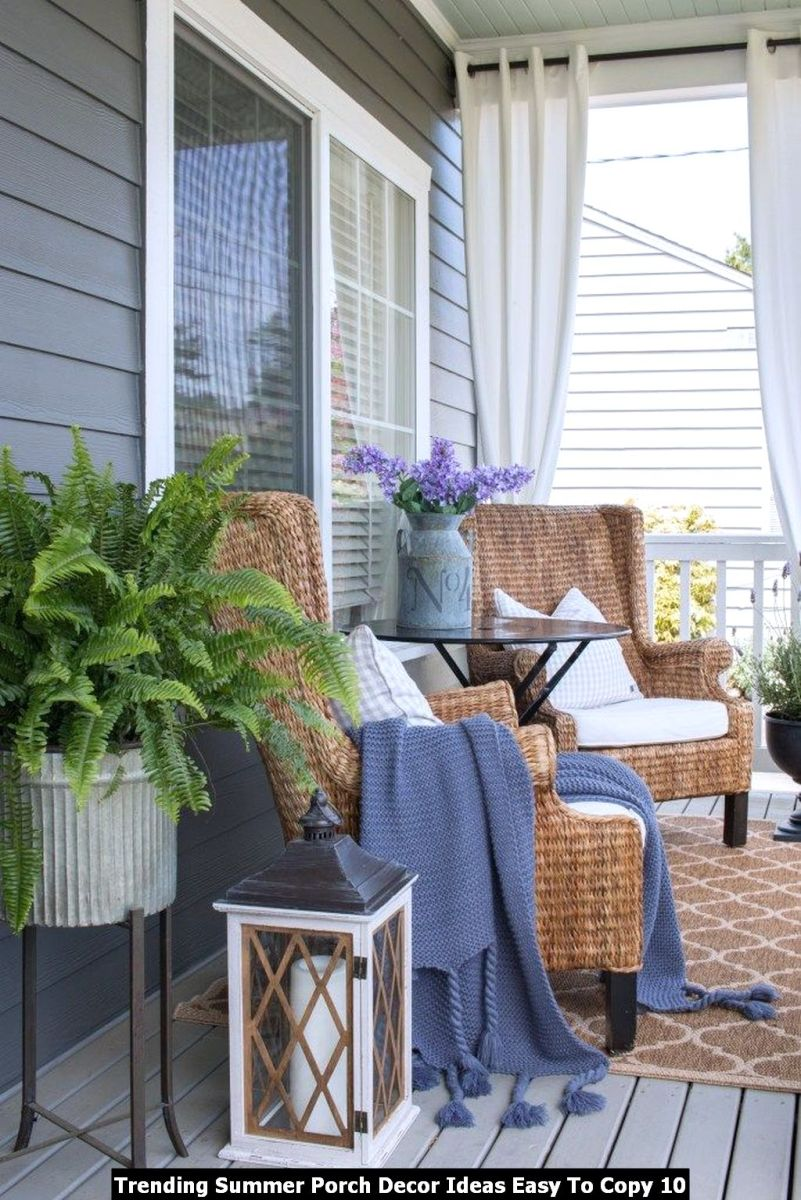 Trending Summer Porch Decor Ideas Easy To Copy 10
