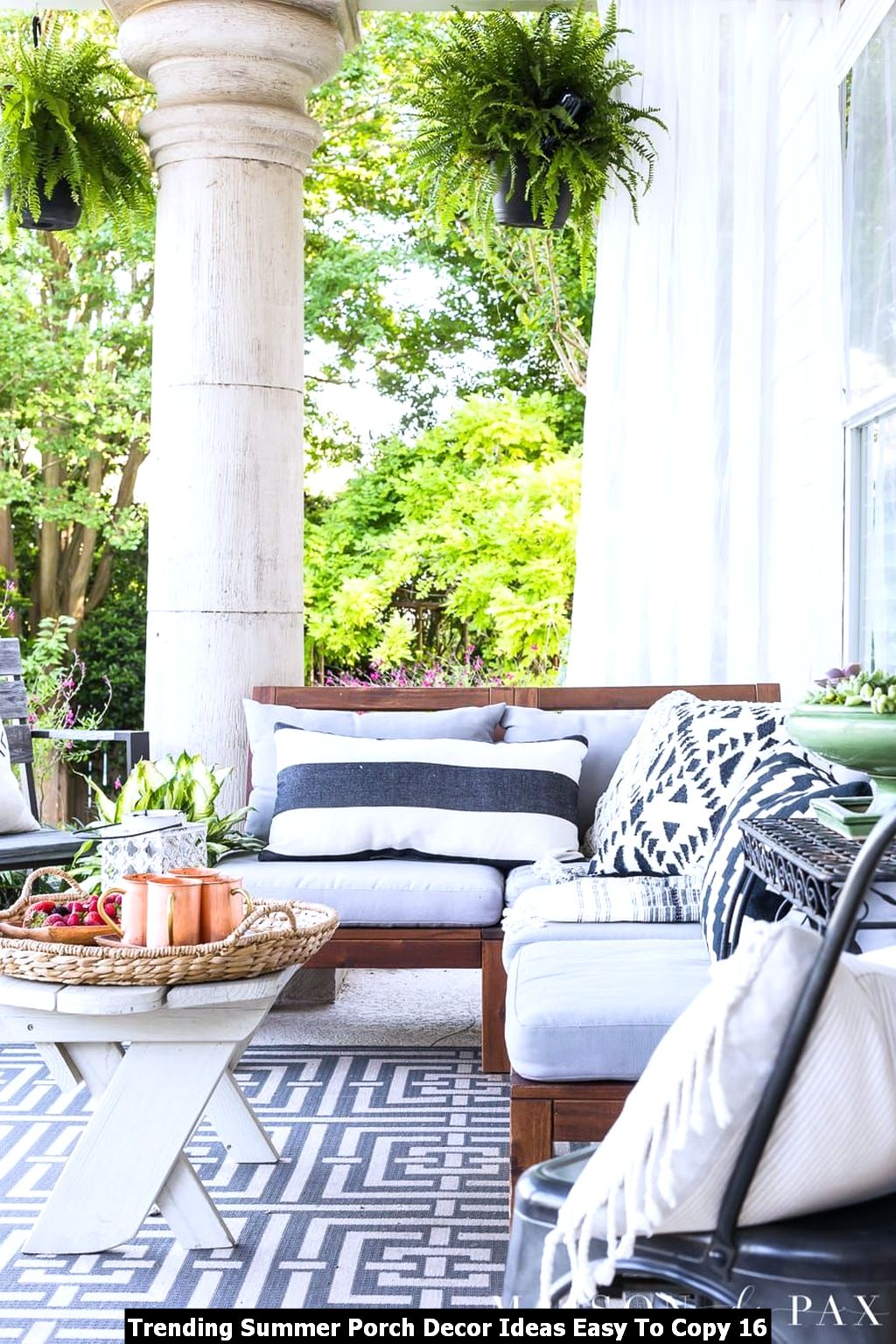 Trending Summer Porch Decor Ideas Easy To Copy 16