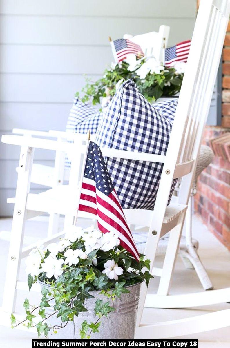 Trending Summer Porch Decor Ideas Easy To Copy 18
