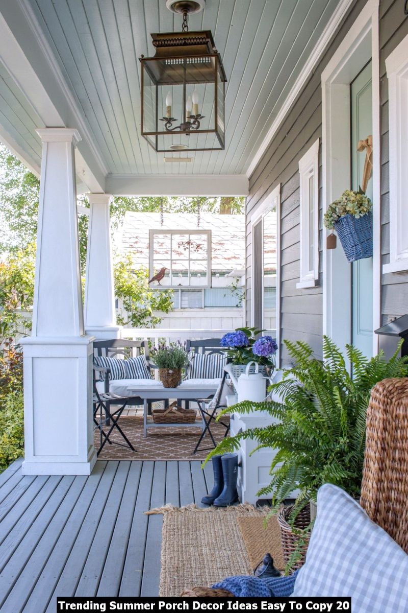 Trending Summer Porch Decor Ideas Easy To Copy 20