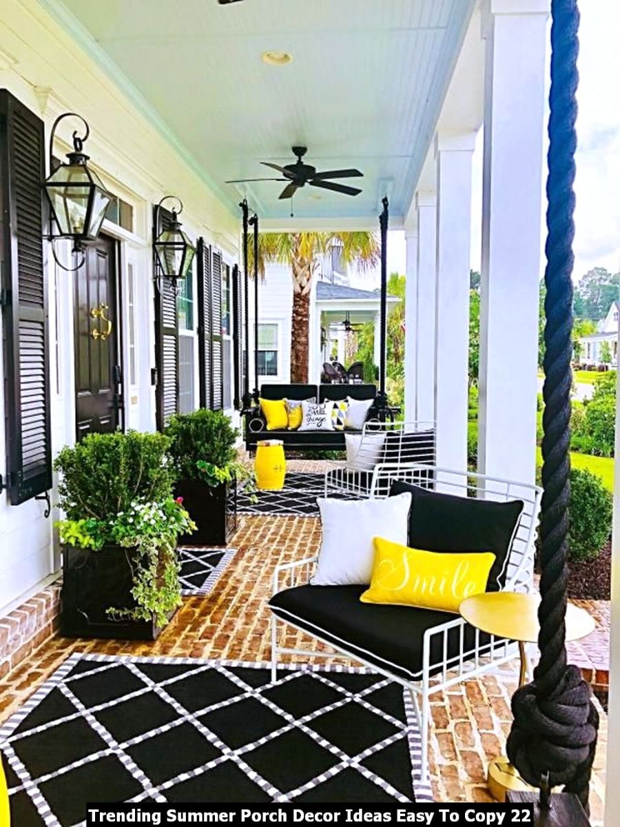 Trending Summer Porch Decor Ideas Easy To Copy 22