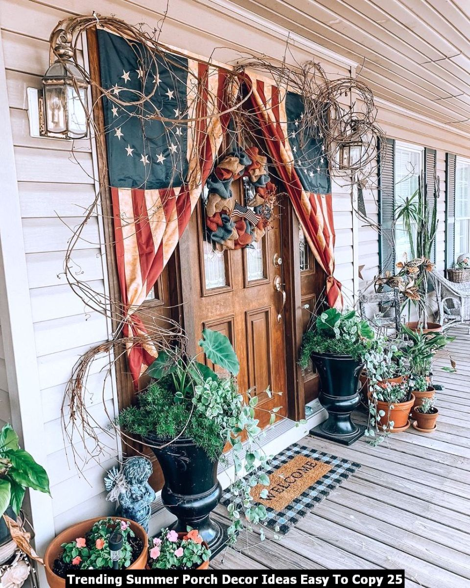 Trending Summer Porch Decor Ideas Easy To Copy 25
