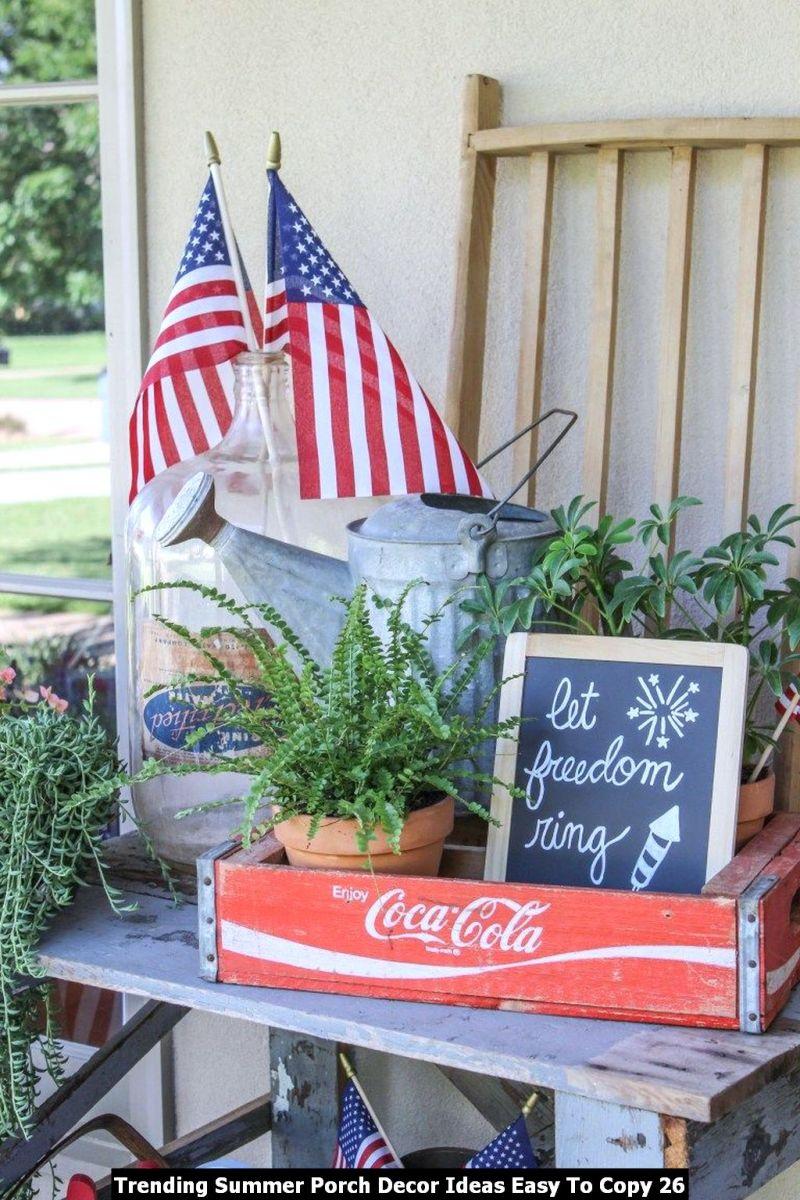Trending Summer Porch Decor Ideas Easy To Copy 26