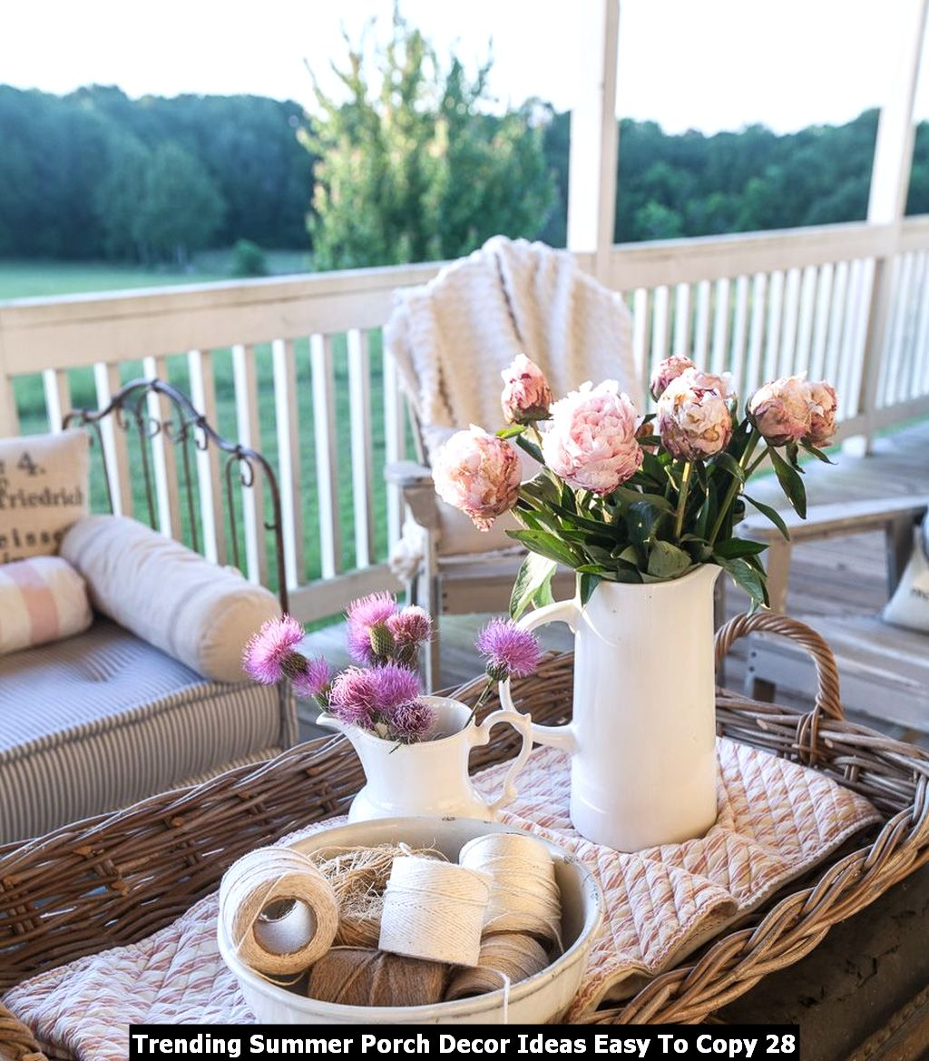 Trending Summer Porch Decor Ideas Easy To Copy 28