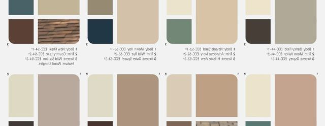Exterior Paint Color Combinations Images