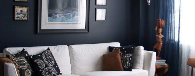 Blue Living Room Walls