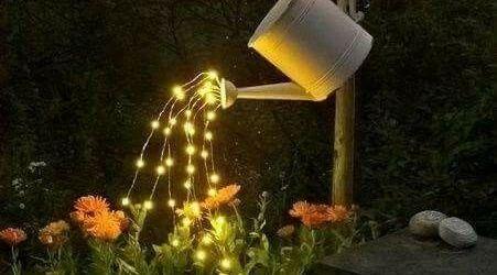 Solar Lights Garden Ideas
