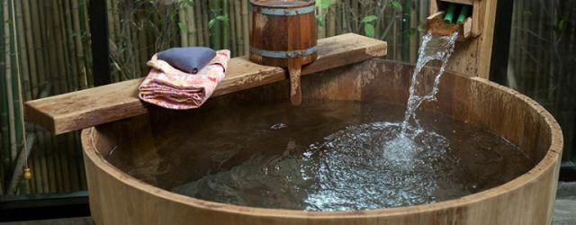 Japanese Soaking Tub Outdoor