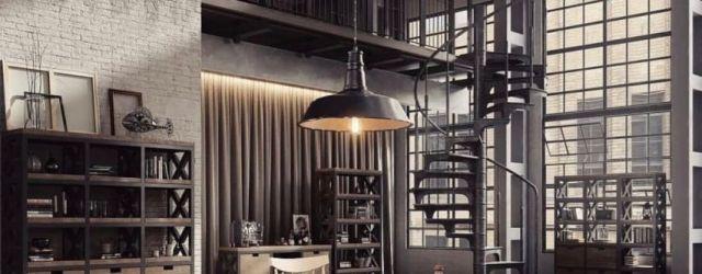 Modern Industrial Home Design