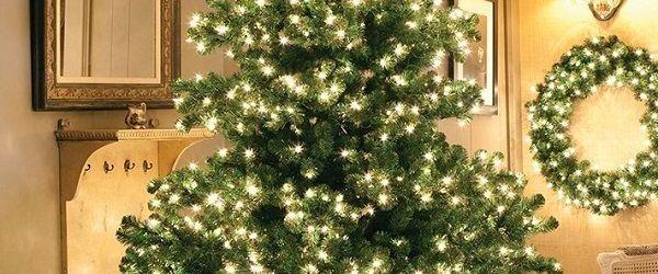 Fake Christmas Tree With Lights
