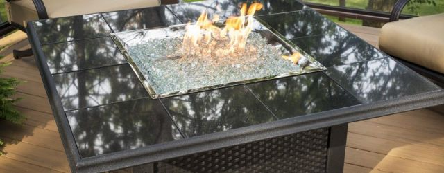 Outdoor Electric Fire Pit