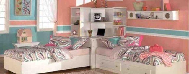Girls Twin Bedroom Set