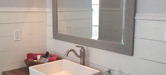 Wood Bathroom Countertop