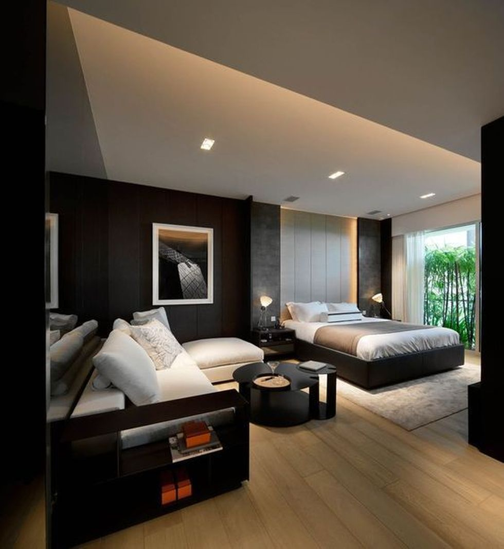 Cool modern bedroom design ideas 64 - Hoommy.com on Cool Bedroom Ideas For Small Rooms  id=53817