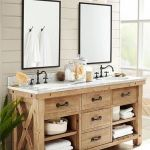 Rustic farmhouse style bathroom design ideas 40