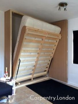 Saving space with creative folding bed ideas 19