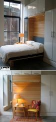 Saving space with creative folding bed ideas 39