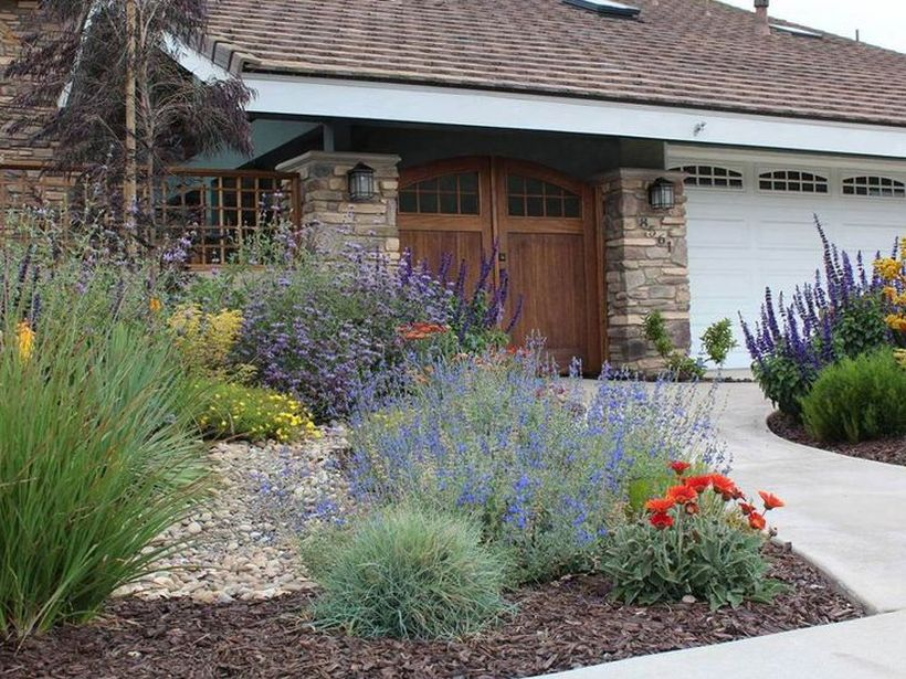 Texas Style Front Yard Landscaping Ideas 30 - Hoommy.com